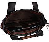 Качественная сумка для нетбука из эко кожи N30921 Черная, фото 7