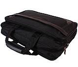 Высококачественная мужская сумка для ноутбука N30819 Черная , фото 4