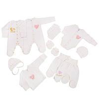 Набор одежды младенцу в роддом GIRL 10в1 Базовый