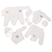 Набор одежды младенцу в роддом BOY 10в1 Базовый