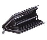 Мужской клатч из кожи BLACK003-3 Черный, фото 5