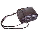 Мужская кожаная сумка Dovhani Dov-3922 Коричневая, фото 6