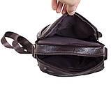 Мужская кожаная сумка Dovhani Dov-3922 Коричневая, фото 7