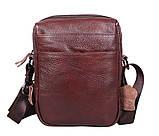 Мужская кожаная сумка Dovhani Dov-8143 Коричневая, фото 2