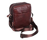 Мужская кожаная сумка Dovhani Dov-8143 Коричневая, фото 3