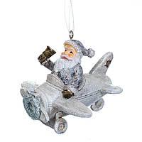 """Новогодние игрушки на елку и украшения елочные Новогодний декор 2021 """"Санта"""" (2007-057)"""