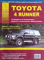 TOYOTA 4-RUNNER  Бензин  Модели 1979-1995 гг.  Руководство по эксплуатации,  обслуживанию и ремонту, фото 1