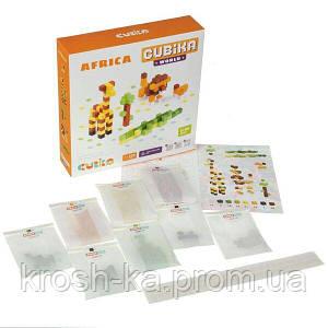Деревянная игрушка Конструктор Cubika World Африка 200 деталей Levenya Cubika Украина 15306