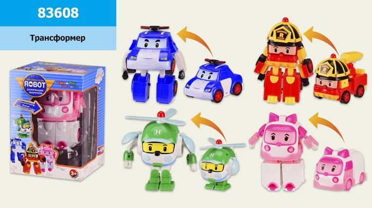 Трансформер, р-р игрушки 10,5*11,1см,в кор. 15,1*11,1*10см /108-2/, фото 2