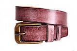 Современный кожаный ремень под джинсы , фото 2