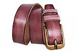 Современный кожаный ремень под джинсы , фото 4
