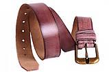 Современный кожаный ремень под джинсы , фото 5