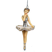 """Новогодние игрушки на елку и украшения елочные Новогодний декор 2021 """"Балерина"""" (2007-004)"""