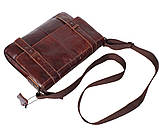 Мужская кожаная сумка A4 Dovhani PRE1862-1 Коричневая, фото 6