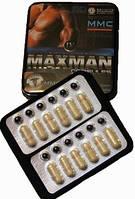 Максмен, Maxman 4, Maxmen 9 препарат для потенции,  12 капсул + 12 драже, фото 1