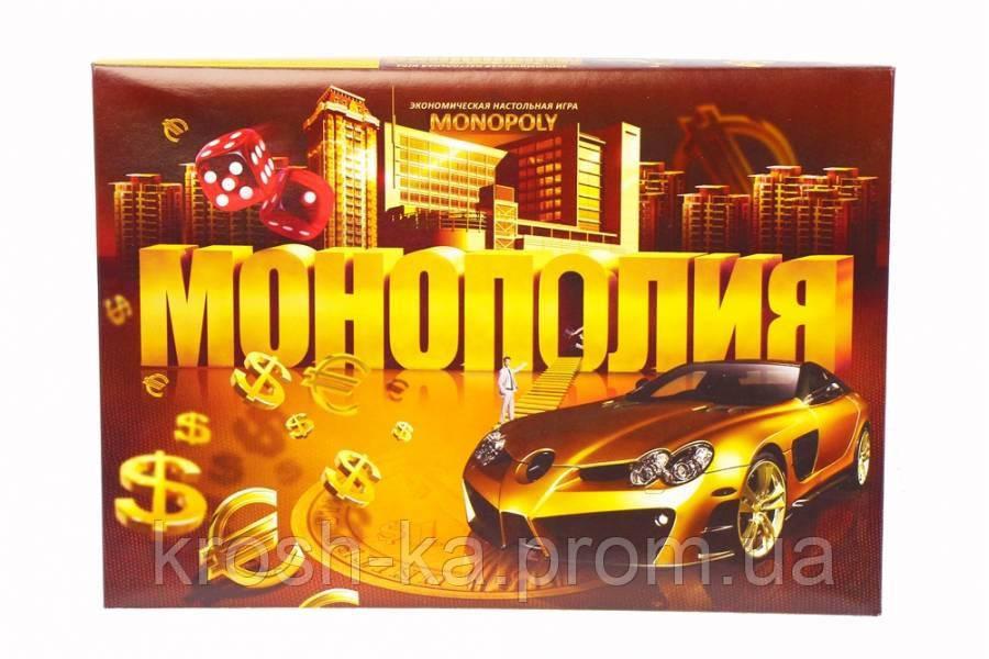 Настольная игра Экономическая  Монополия Artos Games SP G08