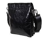 Мужская кожаная сумка DL008-4 черная, фото 6