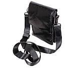 Мужская кожаная сумка DL008-4 черная, фото 7