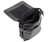 Мужская кожаная сумка DL008-4 черная, фото 10