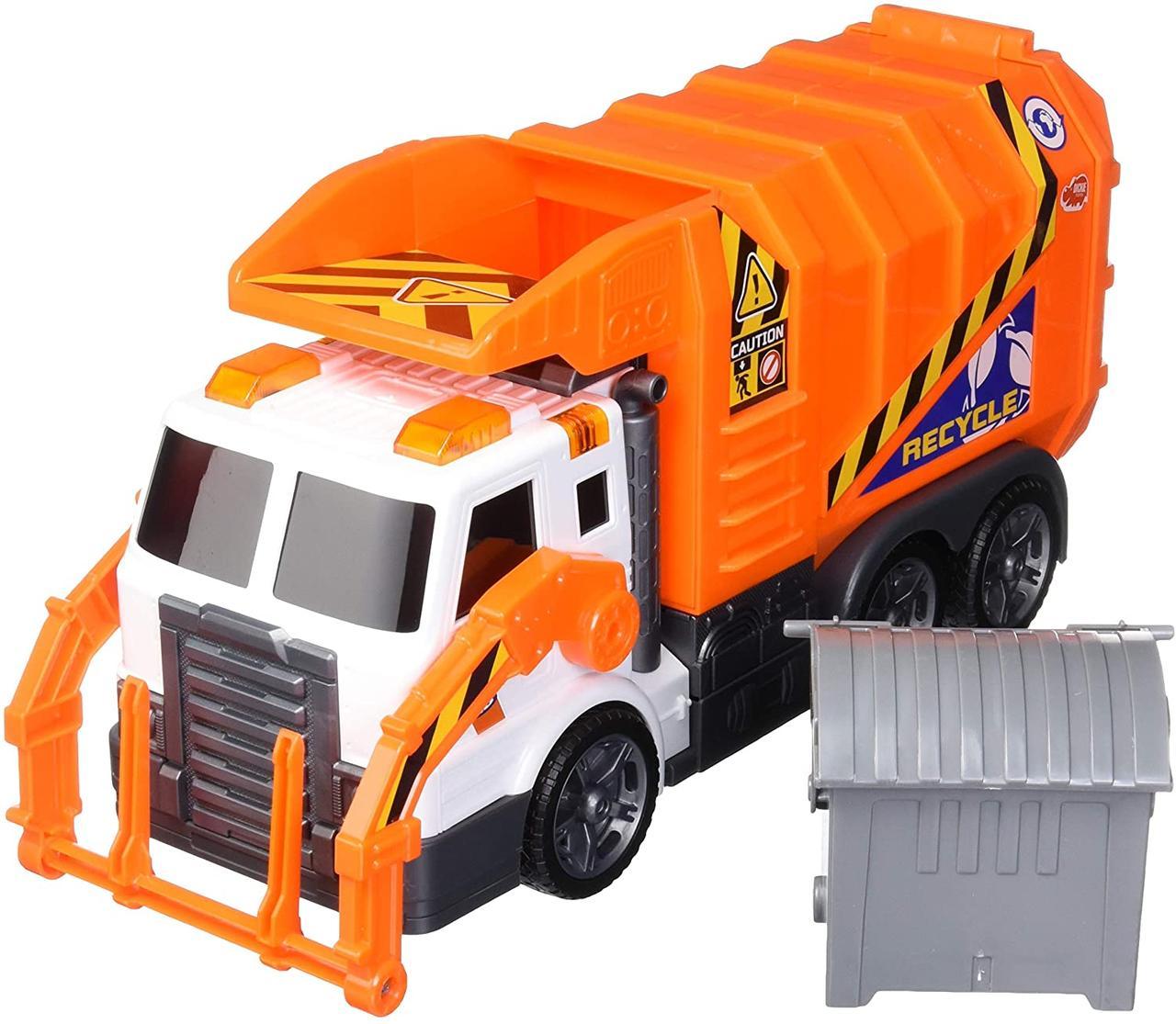 Автомобтль Мусоровоз со звуковыми и световыми эффектами Dickie Toys 1137000