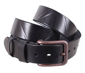 Мужской кожаный ремень Dovhani BUFF000-1 Черный