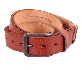 Мужской кожаный ремень Dovhani BUFF000-2 Рыжий
