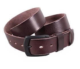 Мужской кожаный ремень Dovhani BUFF000-5 115-130 см Коричневый