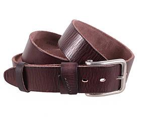 Мужской кожаный ремень Dovhani BUFF000-7 115-130 см Коричневый