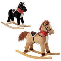 Качалка-лошадка детская 65273 звук, шевелит хвостом