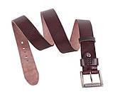 Мужской кожаный ремень Dovhani BUFF000-11 115-130 см Коричневый, фото 3