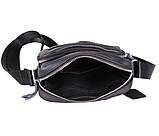 Мужская кожаная сумка Dovhani Dov-30166 Черная, фото 6