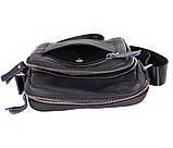 Мужская кожаная сумка Dovhani Dov-30166 Черная, фото 7