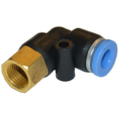 Соединение цанговое для полиуретановых шлангов  AIRKRAFT SPLF06-03 (фитинг, быстросъем, универсальное)