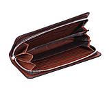 Клатч для мужчин коричневый, фото 4
