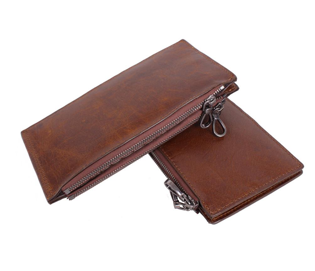 Качественный и стильный портмоне из кожи LA9852-3BCF Коричневый