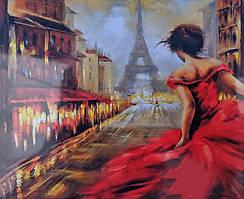 """Картина за номерами """"Опівночі в Парижі"""" 40*50 см"""