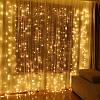 Гирлянда LED Штора 2х2 м, 160 диодов, белая, голубая, желтая, мультик