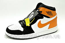 Подростковые кроссовки Nike Air Jordan 1 High Retro на мальчика, фото 2