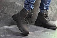 Ботинки Timberland (черные) ЗИМА, фото 1