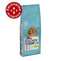 Puppy Dog Chow Lamb 14 кг з ягням для цуценят до 1 року, фото 1