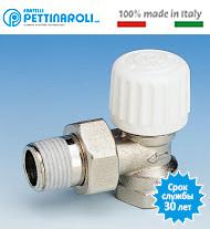 Термостатические краны Pettinaroli