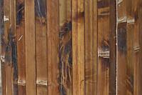 Бамбуковые обои (черепаховые тёмные) ширина планки 17мм  высота 1,5м.