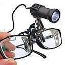 Медицинский налобный фонарь c очками LED 3W, фото 5