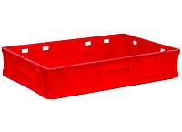 Ящики пластиковые 600 x 400 x 120 E1 для мяса, фото 1