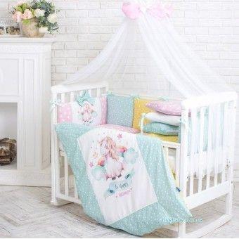 Товари для новонароджених - кокони, набори в ліжечко і коляску. Індивідуальний пошив.