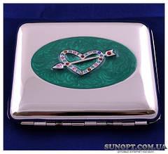 Портсигар подарунок для сигарет компактний на 20 сигарет №2436