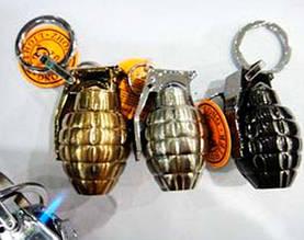 Запальничка подарункова сувенірна в подарунок оригінальна для чоловіка -брелок граната №3980