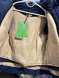 Зимняя куртка для мальчика  Синий р. 92 (полномерный), фото 4