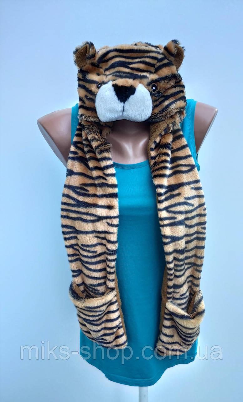 Шапка з шарфиком George  Розмір 104-128