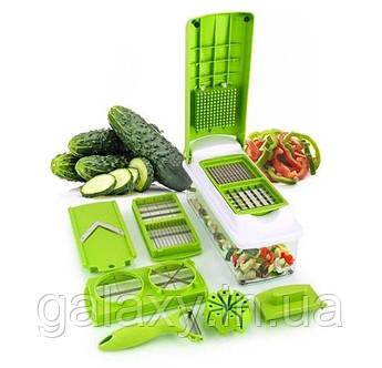 Овочерізка Мультислайсер Nicer Dicer plus подрібнювач для овочів найсер дайсер